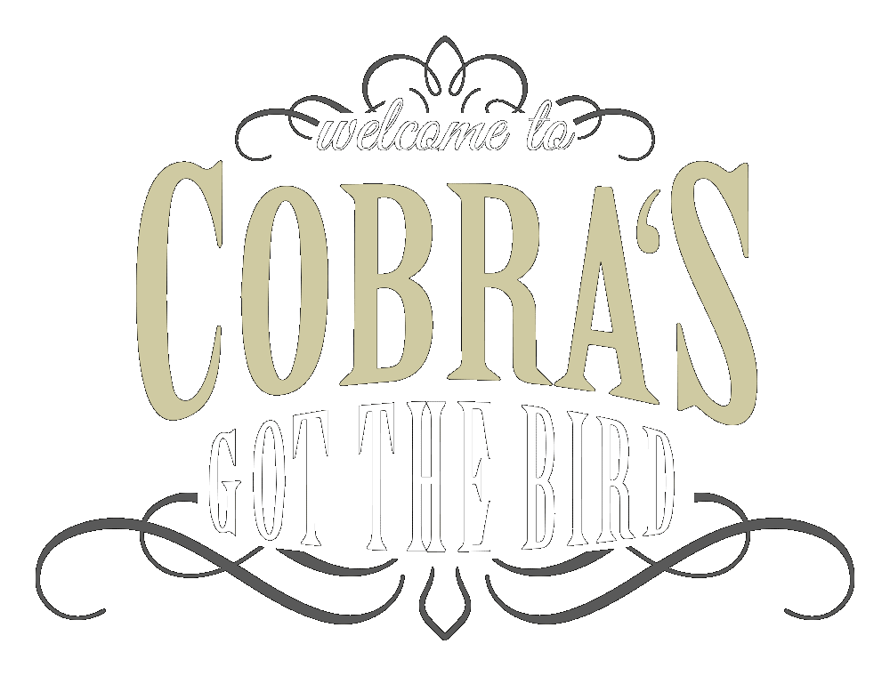 Cobra's Got The Bird Logo